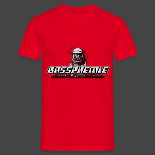 Bassphemie - Bassphemie Logo - Männer T-Shirt