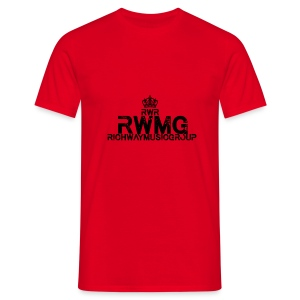 RWMG_Black 2 - Mannen T-shirt