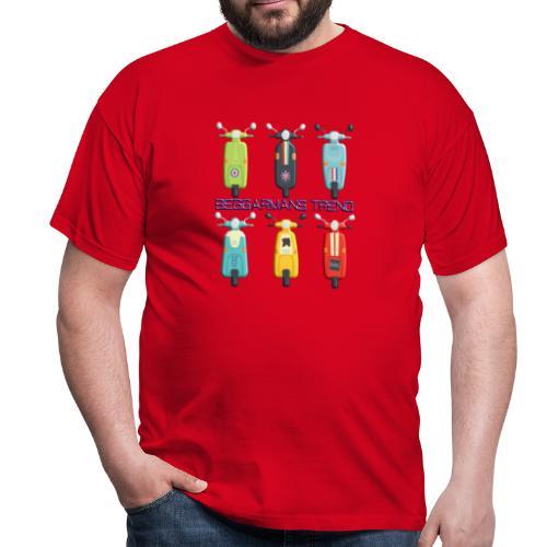 beggarmans trend scooters - Men's T-Shirt