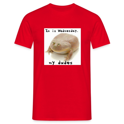 Wednesday frog - Men's T-Shirt