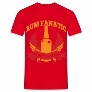 T-shirt Rum Fanatic - Port Louis, Mauritius - Koszulka męska