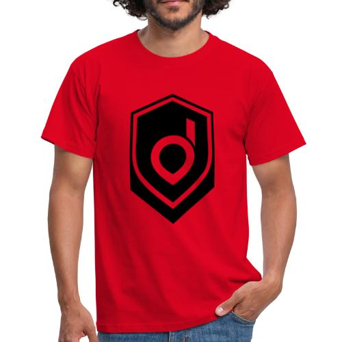 Logo Schwarz Inverted - Männer T-Shirt
