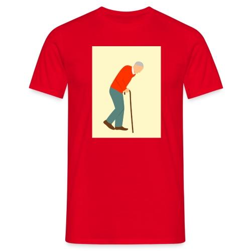 Alter Mann - Männer T-Shirt