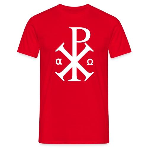 Alpha et Oméga - Jésus Christ - T-shirt Homme