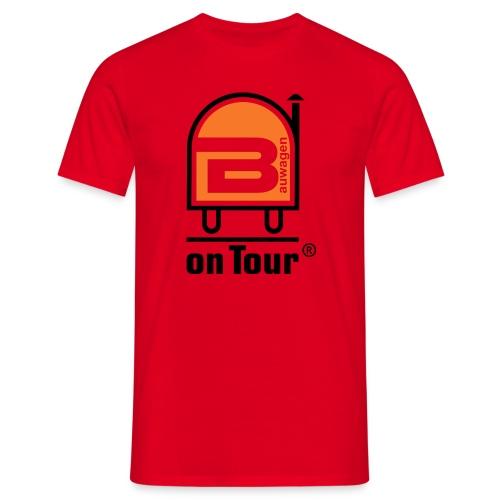Bauwagen Logo - Männer T-Shirt