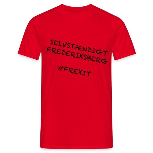 Selvstændigt Frederiksberg #FREXIT - Herre-T-shirt