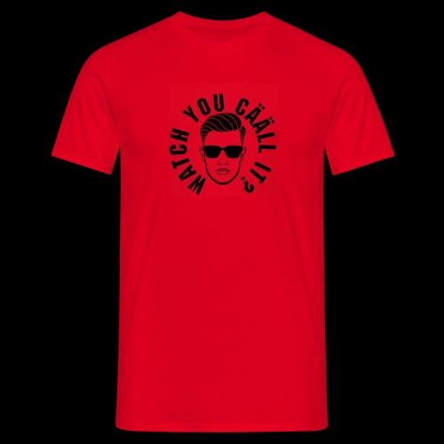 WYCI RED - T-shirt herr