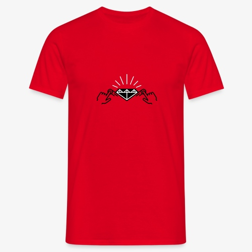 diamond black by A3'rt - T-shirt Homme