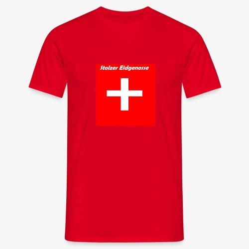 Schweizer Fanshirt - Männer T-Shirt