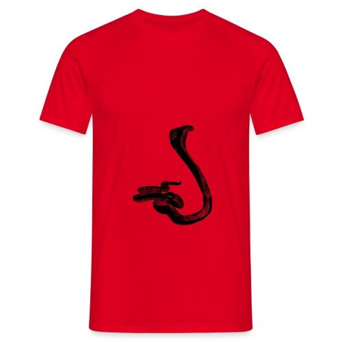 serpiente - Camiseta hombre