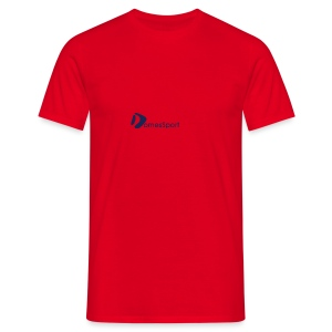 Logo DomesSport Blue noBg - Männer T-Shirt