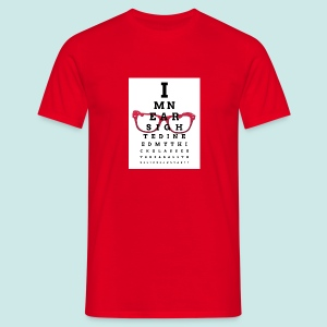Eyechart Glasses Lunettes - T-shirt Homme
