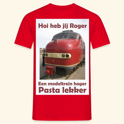 hoi heb jij roger - Mannen T-shirt