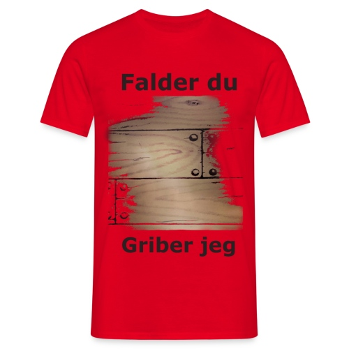 Gulvet Griber - Herre-T-shirt