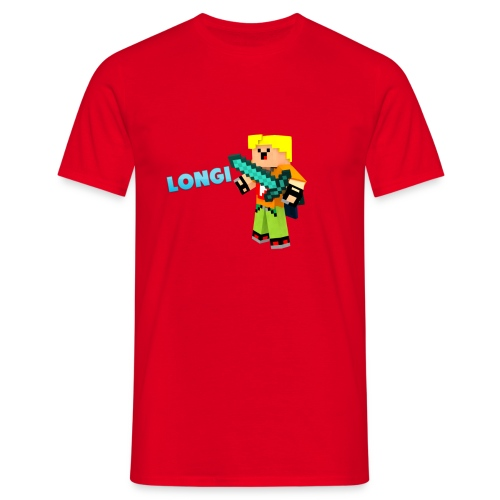 Kämpfender Longi Shirts - Männer T-Shirt