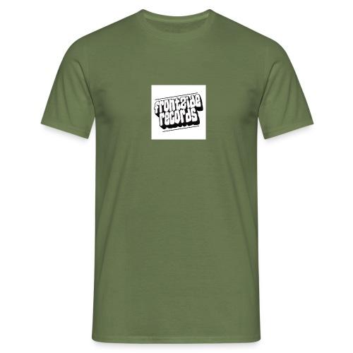 newfrontzidelogo - Herre-T-shirt