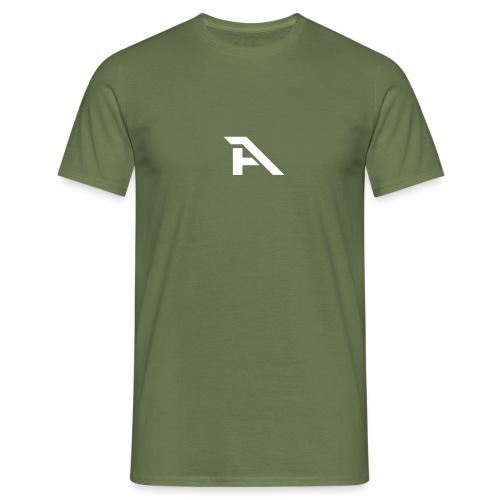 Aura Logo-(P. & White) - Maglietta da uomo