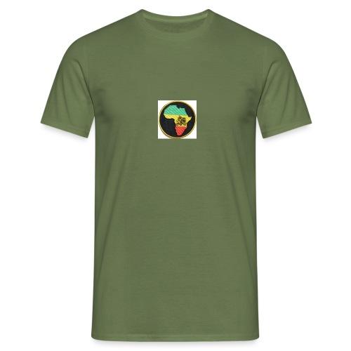 Rasta Lion - T-shirt herr