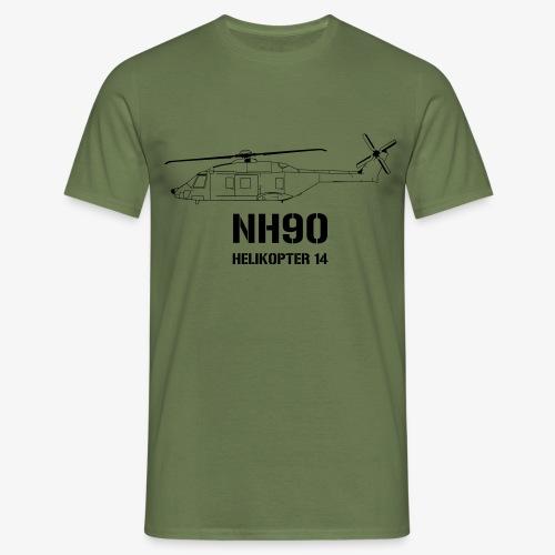 Helikopter 14 - NH 90 - T-shirt herr