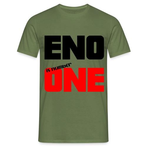 eno is number one - retro / musta - Miesten t-paita