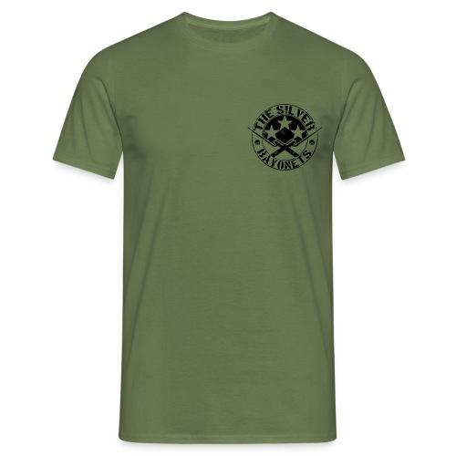The Silver Bayonets (Logo) - Men's T-Shirt