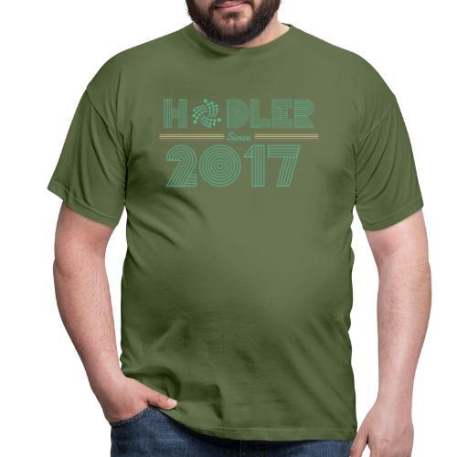 IOTA Hodler since 2017 - Männer T-Shirt