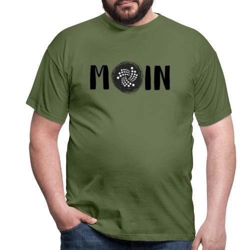 MOIN IOTA | BTC, Kryptowährung | IOTA Shirt - Männer T-Shirt