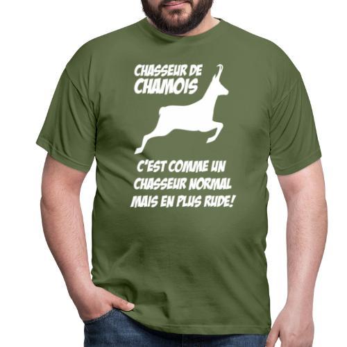 Chasseur de chamois - T-shirt Homme