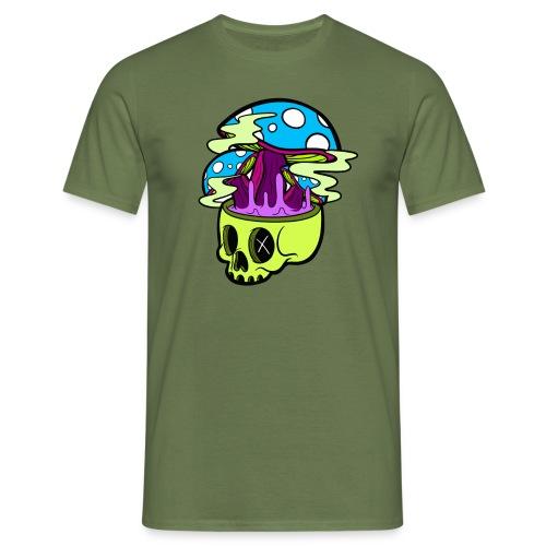 Mushroom Skull - Camiseta hombre