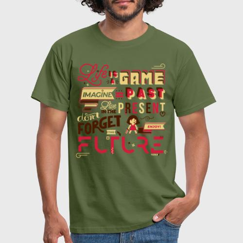 Life is a Game - T-shirt Homme