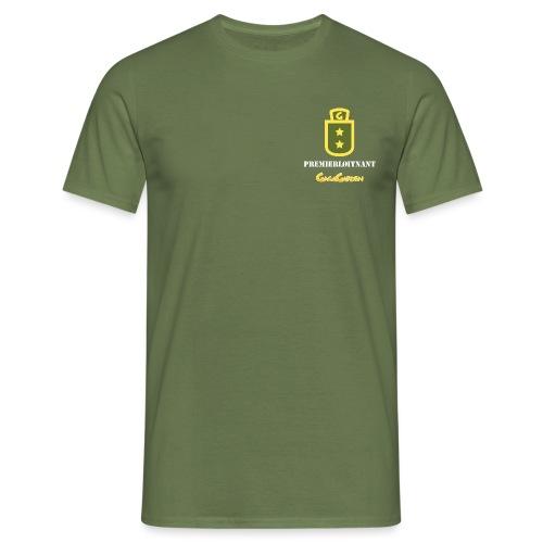 GagaGarden premierløitnant - T-skjorte for menn