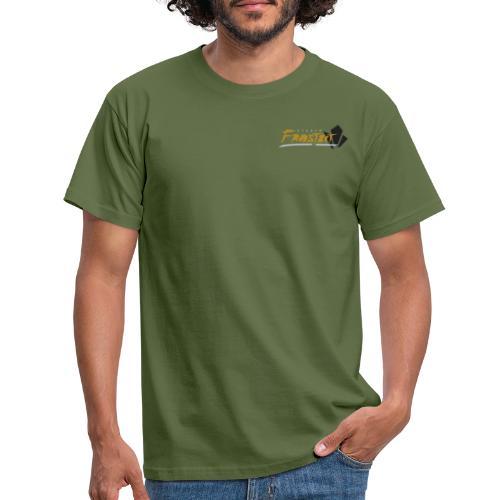 Logo, tisidet - T-skjorte for menn