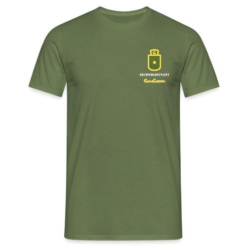 GagaGarden secondløitnant - T-skjorte for menn