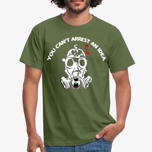 Anonymous - You can't arrest an idea - T-shirt Homme