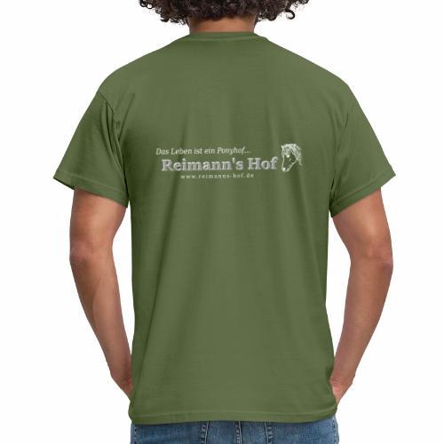 Reimann' Hof Islandpferd beidseitig - Männer T-Shirt