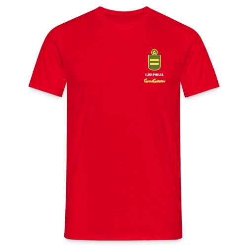 GagaGarden korporal - T-skjorte for menn