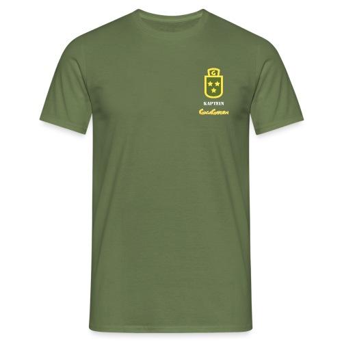 GagaGarden kaptein - T-skjorte for menn