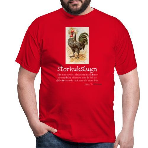 Storkukslugn - T-shirt herr