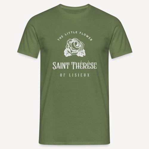 St Thérèse of Lisieux - Men's T-Shirt