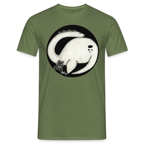 Nessie Durmiente (Monstruo del lago Ness) - Camiseta hombre