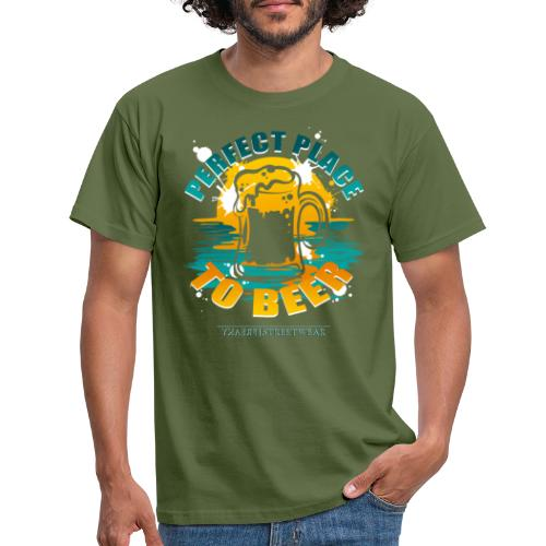 a perfect place to beer - Männer T-Shirt