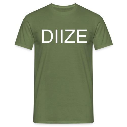 DIIZE logo shirt - Mannen T-shirt