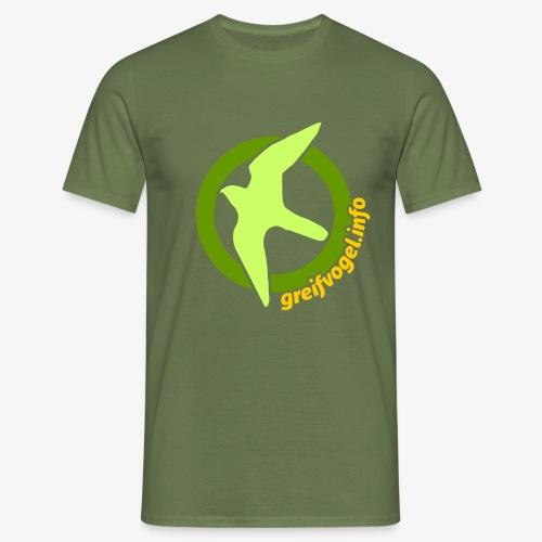grinfo logo 2020 big - Männer T-Shirt