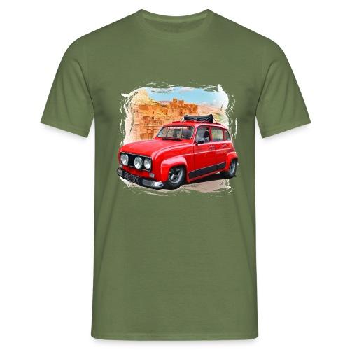 R4 4L prête au départ pour le Raid dans le désert - T-shirt Homme