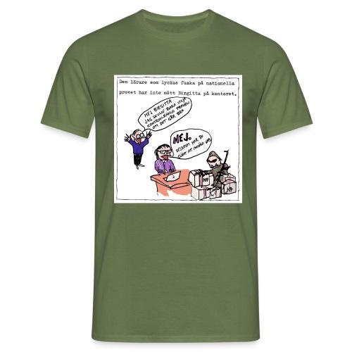 Birgitta på kontoret - T-shirt herr