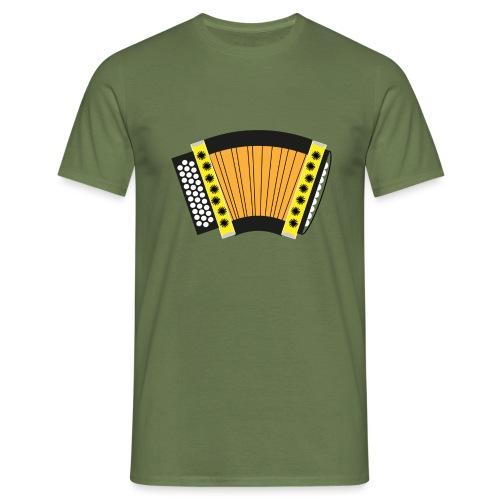 Schwyzerörgeli gelb - Männer T-Shirt