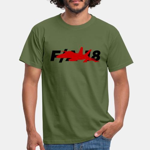 F/A-18 Super Hornet   F 18   F18   F/A18   Hornet - Men's T-Shirt