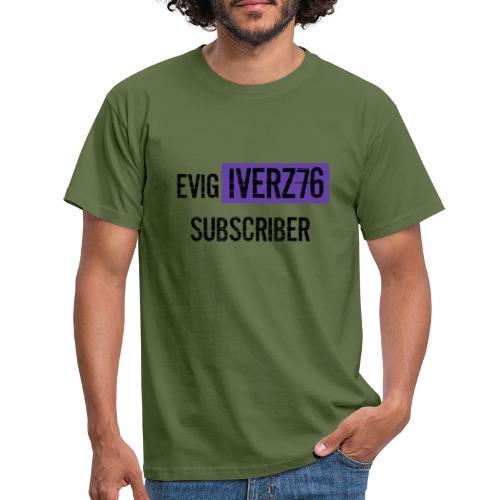 hvit Design2020 - T-skjorte for menn