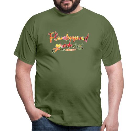 Flamboyand Gardener - Miesten t-paita