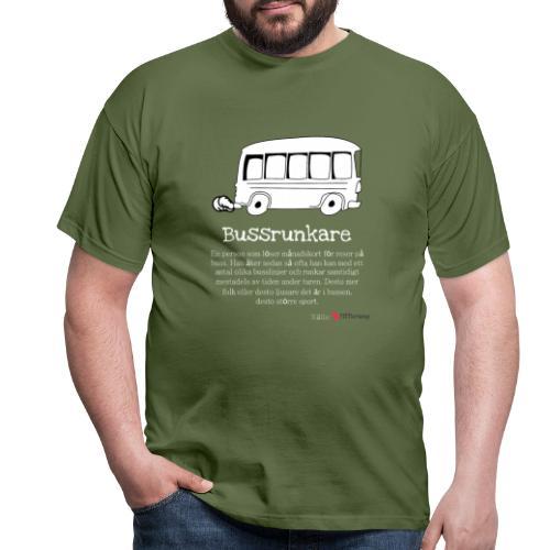 Bussrunkare - T-shirt herr